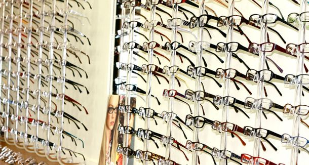 great selection of eyewear